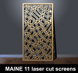 MAINE 11 Fretwork screens laser cut