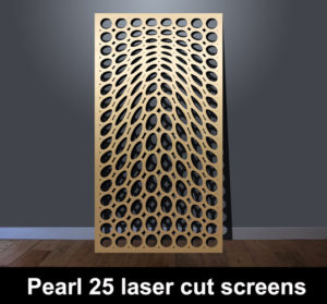 Pearl 25 decorative metal screens