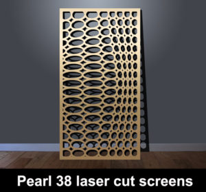 Pearl 38 decorative MDF panels
