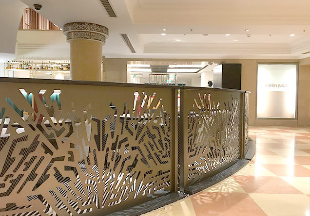 Art deco interior Hilton Paddington hotel