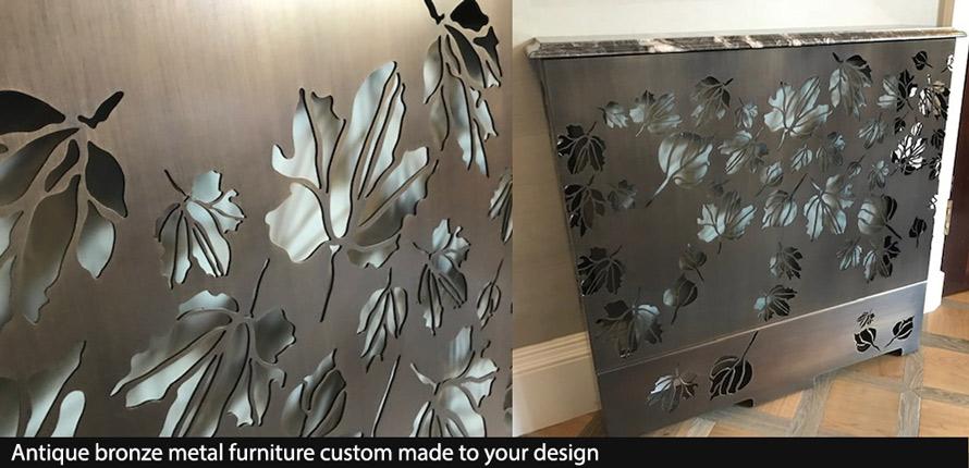 custom made bronze furniture