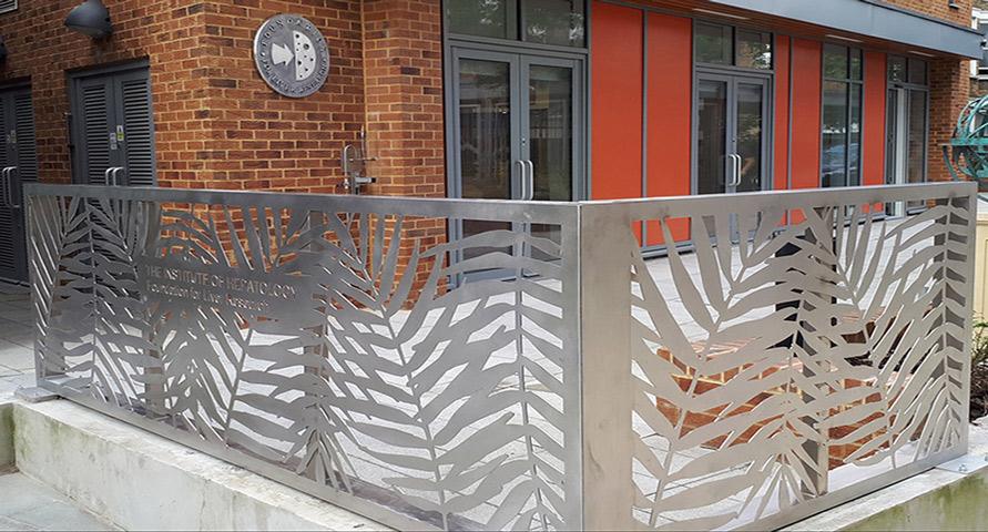 stainless steel laser cut balustrades | Custom Designs