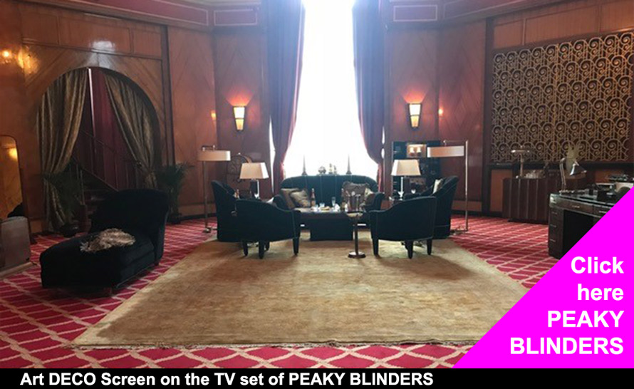 Peaky Blinders Art Deco CASAREVO screens