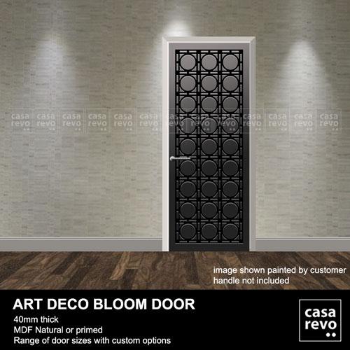 Art Deco BLOOM mdf interior doors