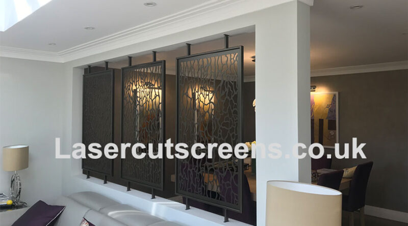 bronze room divider in Homer Patterns