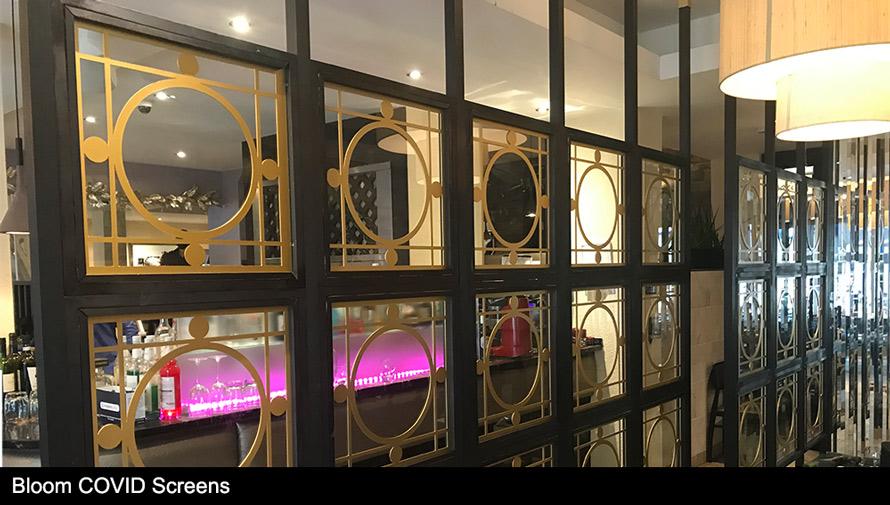 CASAREVO COVID screen in Bloom design