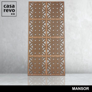MANSOR 3D MDF fretwork by CASAREO