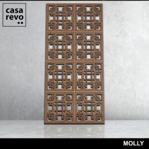 MOLLY MDF Fretwork panel by CASAREVO