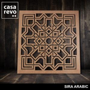SIRA ARABIC MDF FRETWORK PANEL BY CASAREVO