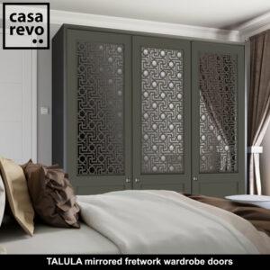 TALULA Mirror wardrobe doors by CASAREVO