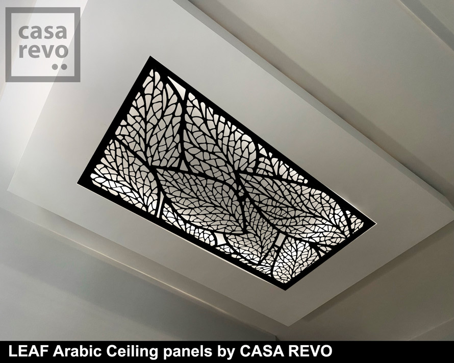 LEAF FLORAL decorative ceiling screens